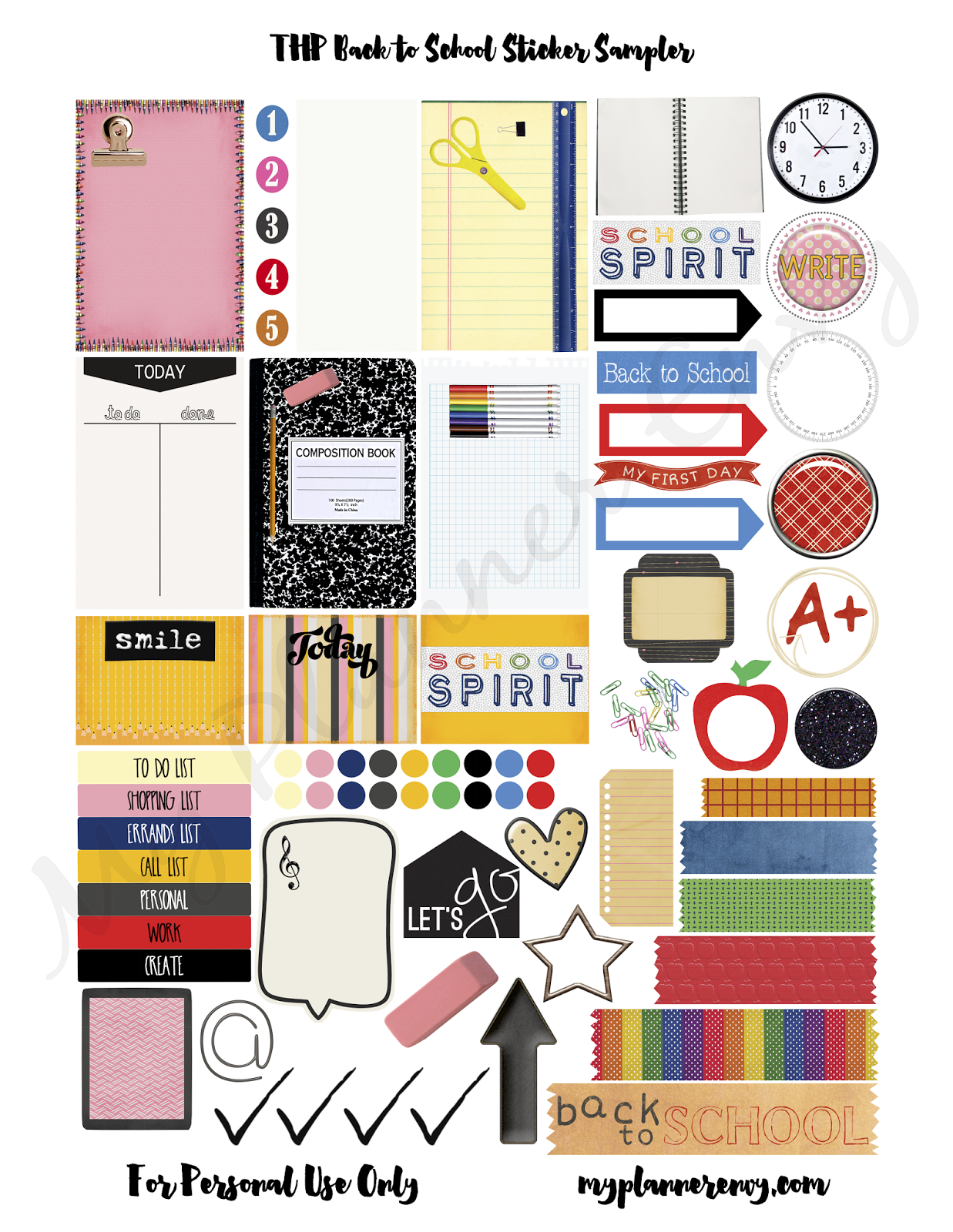 pin by scrapbook my life on scrapbook printables | planner stickers