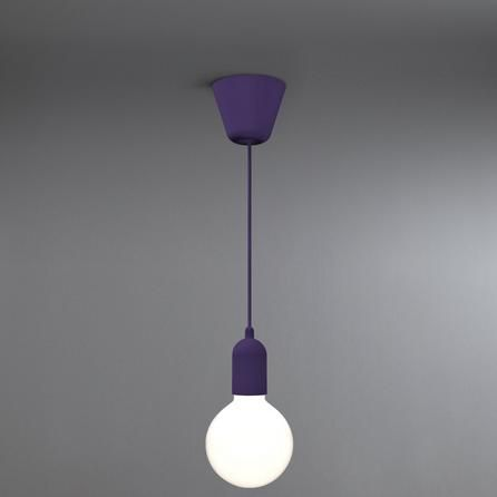 Nordlux Design for The People Funk Suspension Contemporary Purple Ceiling Light Fitting
