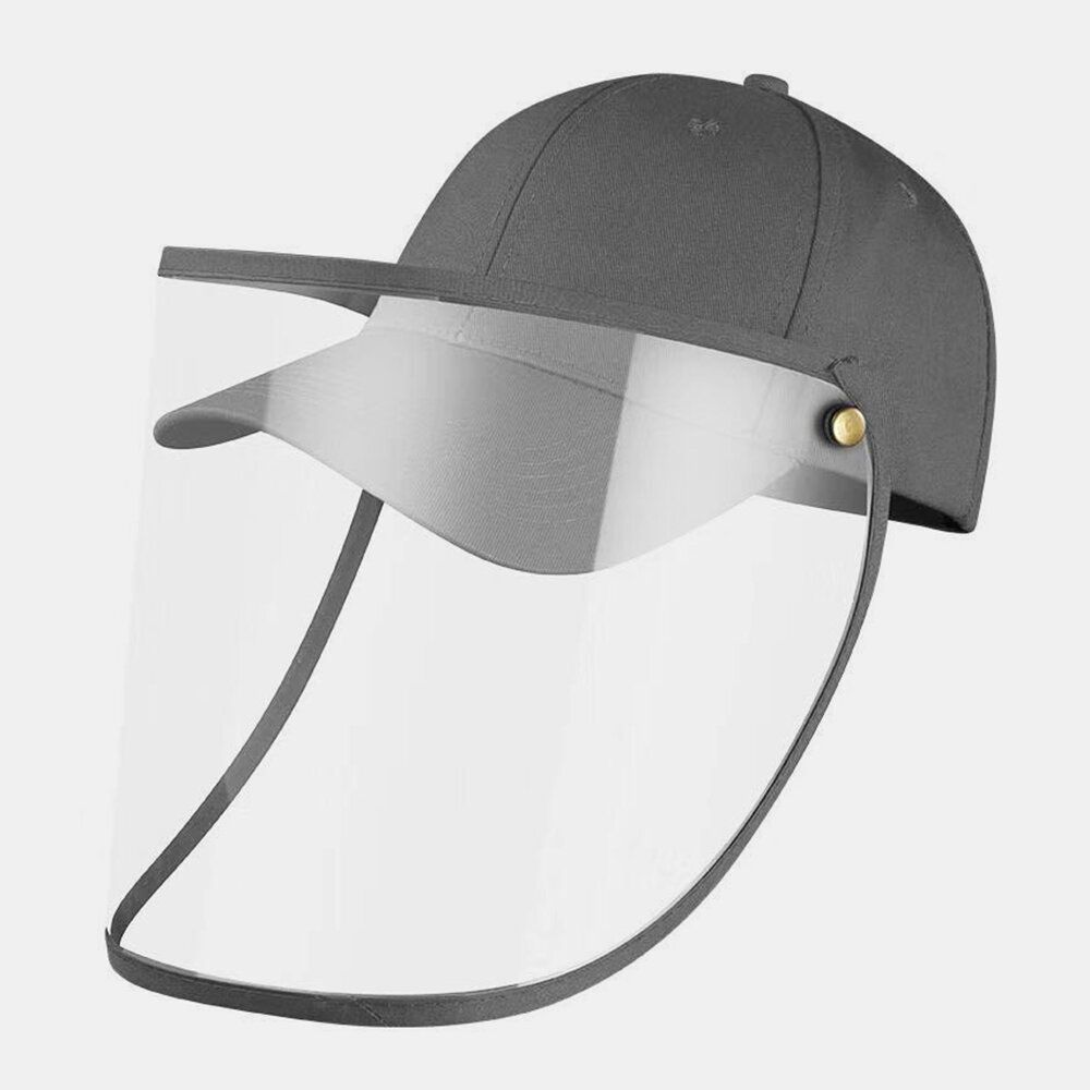 Collrown Transparent Detachable Sun Visor Anti Fog Cap In 2020 Black Baseball Cap Baseball Cap Cap