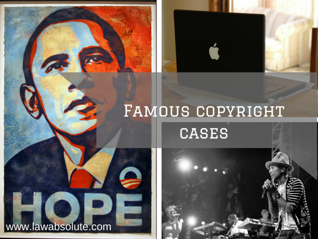 Most famous copyright cases