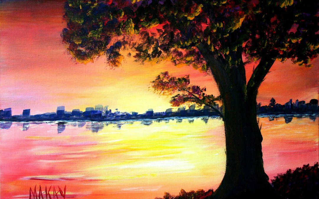 Acrylic Landscape Painting Course Age 7 To 17 Landscape