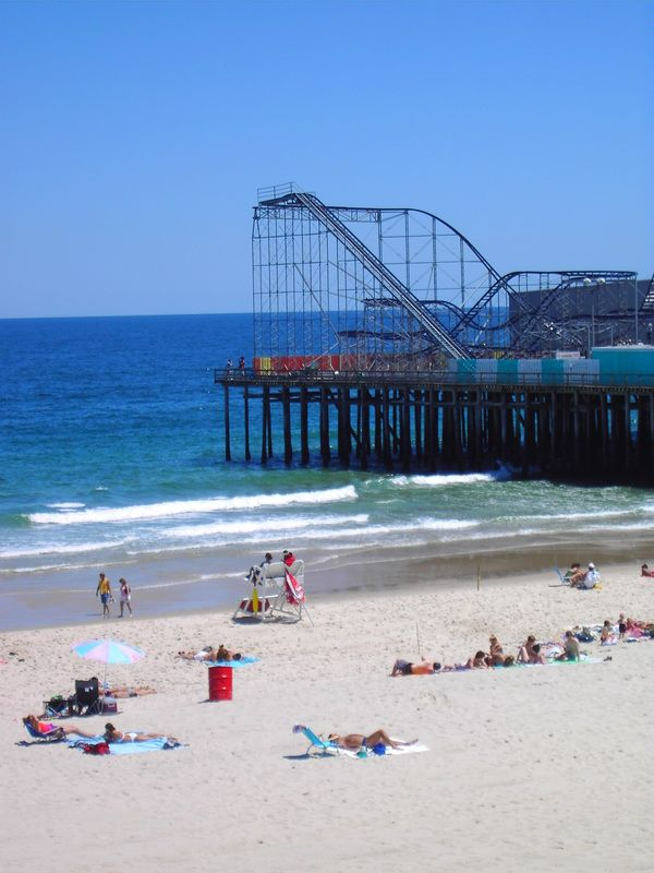Seaside Heights Nj Then Went On The Roller Coaster So Many Times