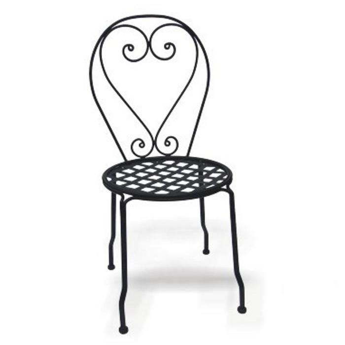 Perfect Wrought Iron Chair