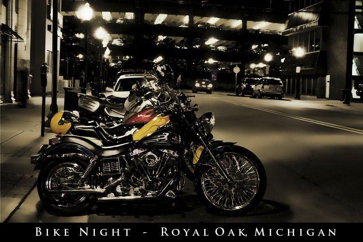 bike night in royal oak royal oak hometown small towns pinterest