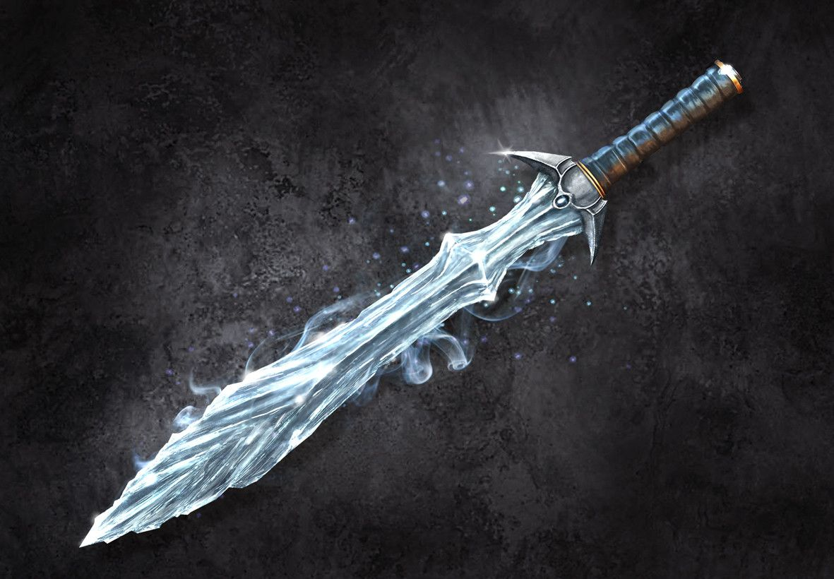 Синий меч картинки