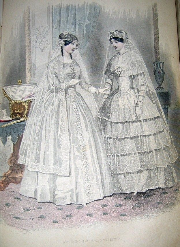 Great Site For Historical Clothing 1850 Ey S Wedding Costumes Was The Book All