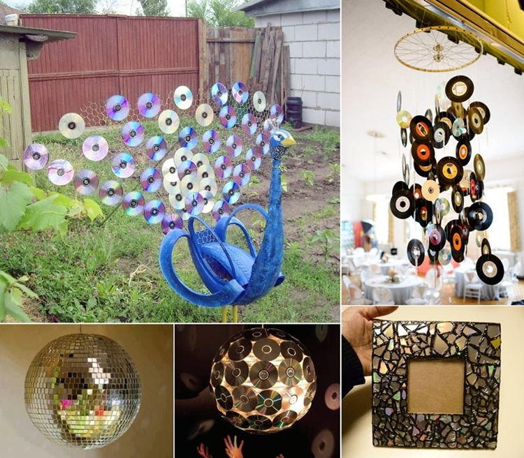 5 super creative ideas to recycle old cds and dvds http for Creative recycling projects