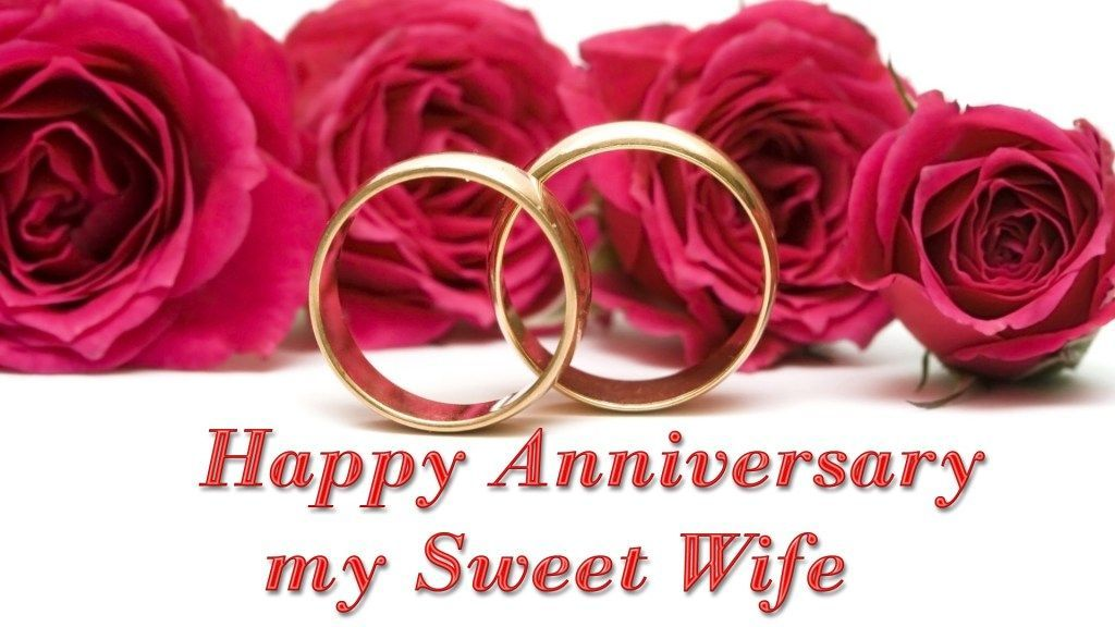Wedding anniversary Wishes For Wife Images 2018 free