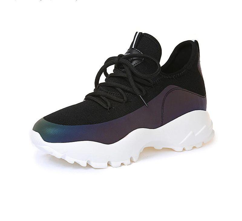 oben Geilidaren Black Holographic Sneakers | shoes in 2019