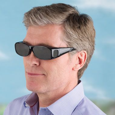 The Eye Fatigue Preventing Over Sunglasses - Hammacher Schlemmer