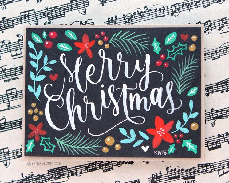 Brush Lettering Hand Painted Christmas Card Printables Printable Christmas Cards Hand Lettered Christmas Christmas Lettering