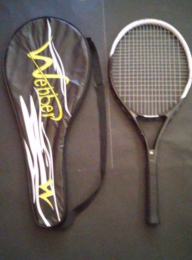 Webber Tennis Racket Sports Badminton Single Shoulder Bag Carbon Fiber Tennis Racket Rackets Badminton