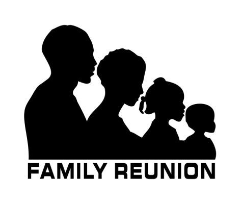 Family Reunion Picnic Clipart