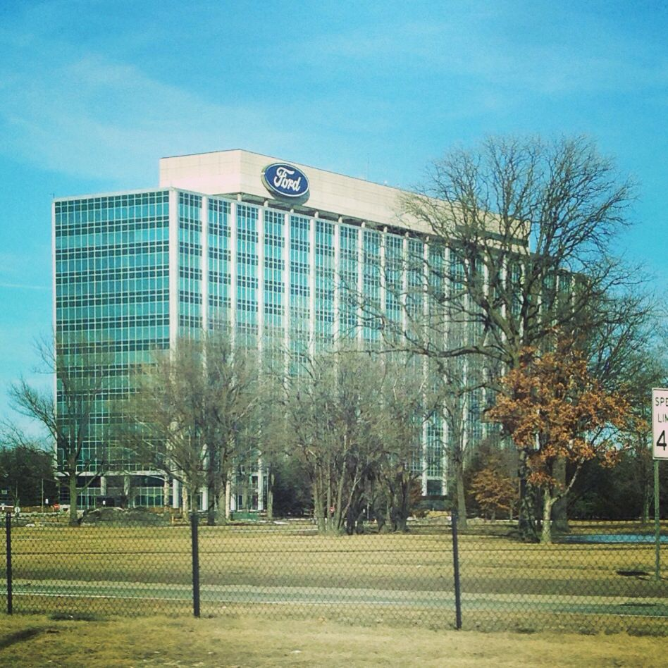 The Glass House Ford World Headquarters Dearborn Mi Circa 2013
