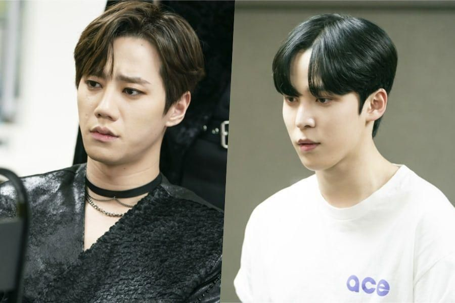 """""""Imitation"""" Previews U-KISS's Lee Jun Young And ATEEZ's Yunho's Tense Confrontation In The Waiting Room"""