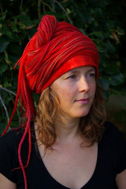 """Feutre Art Textile: Défi n°2 : """"la bohème""""  Annelie Petitqueux"""