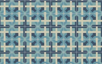For a more traditional take on Irish motifs, our new concrete tile design Galway is the perfect choice. Tile photo, Granada Tile.  cement tile, concrete tile, encaustic tile #cementtile #cementtiles #concretetile #concretetiles #encaustictile #encaustictiles