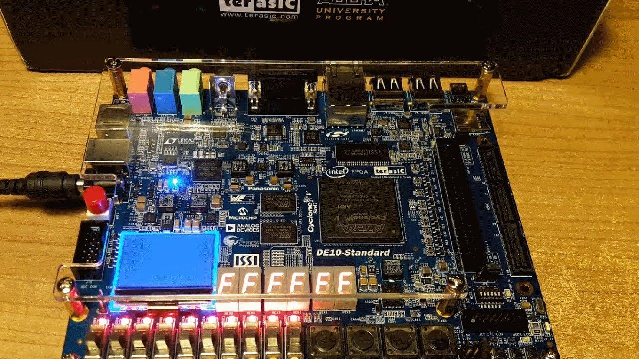 Review: DE10-Standard FPGA-SoC Developing Board  | Stuff to