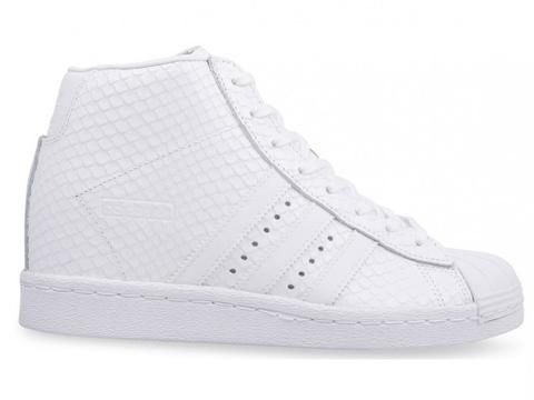 finest selection c4748 1cadd adidas Superstar Up Snakeskin Womens - Triple White  adidas  superstar   sneakers