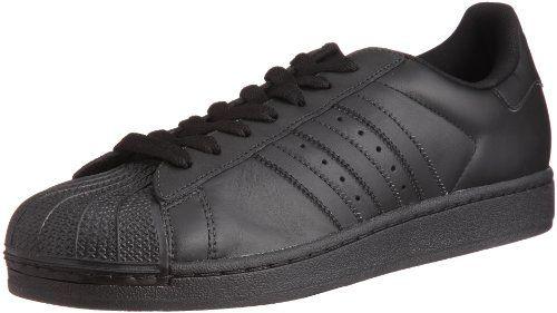 adidas Sneaker Superstar II 43 1/3 black/black/black - http: · Adidas  Superstar SchwarzAdidas Superstar FoundationAdidas ...