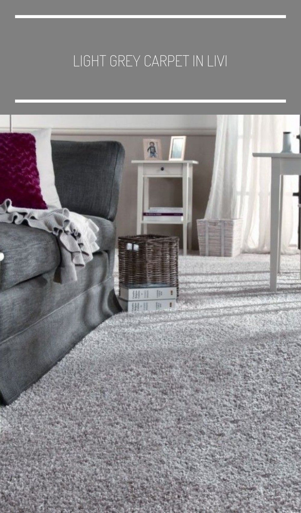 Light Grey Carpet In Livi Em 2020