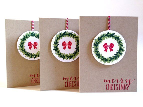 Christmas Card Set - Christmas Cards Boxed Set - Holiday Cards