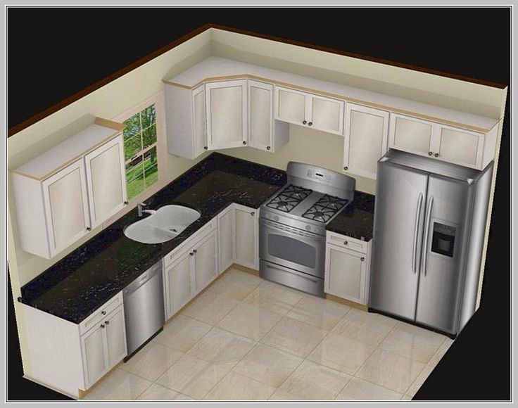 Kitchen Layout Templates 6 Different Designs: L Shaped Kitchen Counter Decor