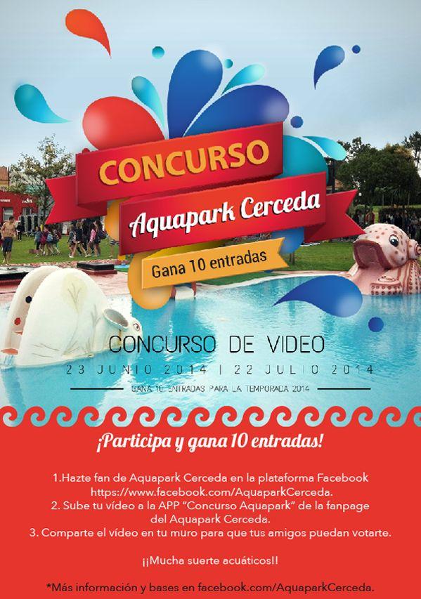 Participa en nuestro #concurso de vídeo y consigue 10 #entradas para la nueva temporada 2014 en el Aquapark Cerceda!!  Sube tu vídeo aquí http://j.mp/1nygMPf ------------------------------------------------------------------------ Participa no noso concurso de vídeo e consegue 10 entradas para a nova tempada 2014 no Aquapark Cerceda!! Sobe o teu vídeo aquí http://j.mp/1nygMPf
