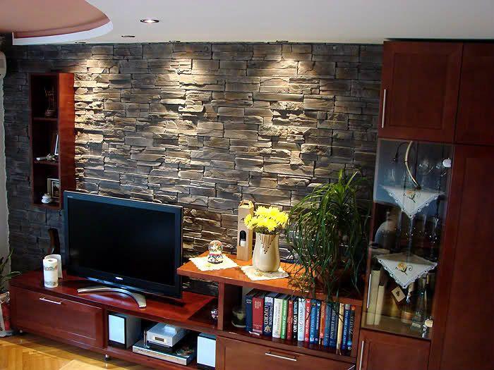 Dekorativni Kamen U Dnevnom Boravku Living Room Tvs Room