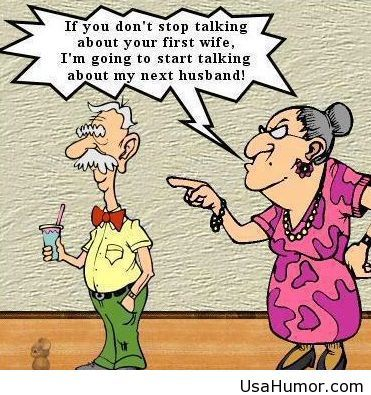 Funny jokes about first wife   Happy New Year   Pinterest   Funny jokes