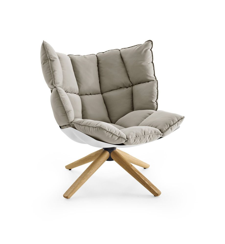 Elegant Armchair: HUSK   Collection: Bu0026B Italia   Design: Patricia Urquiola