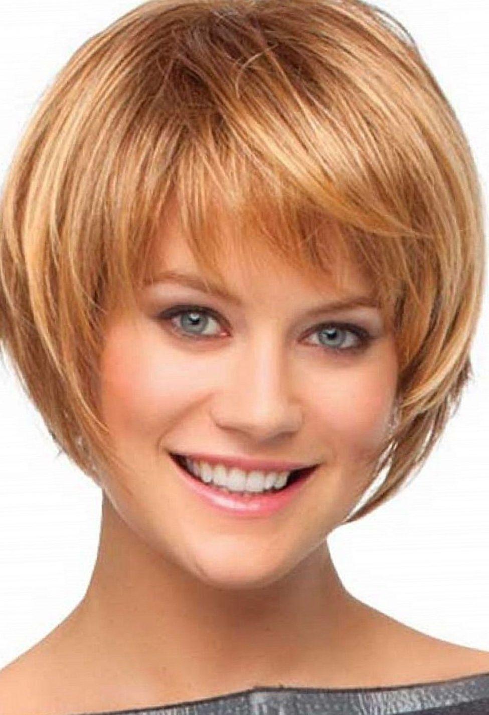 Medium hair styles short layered haircuts with bangs short bob