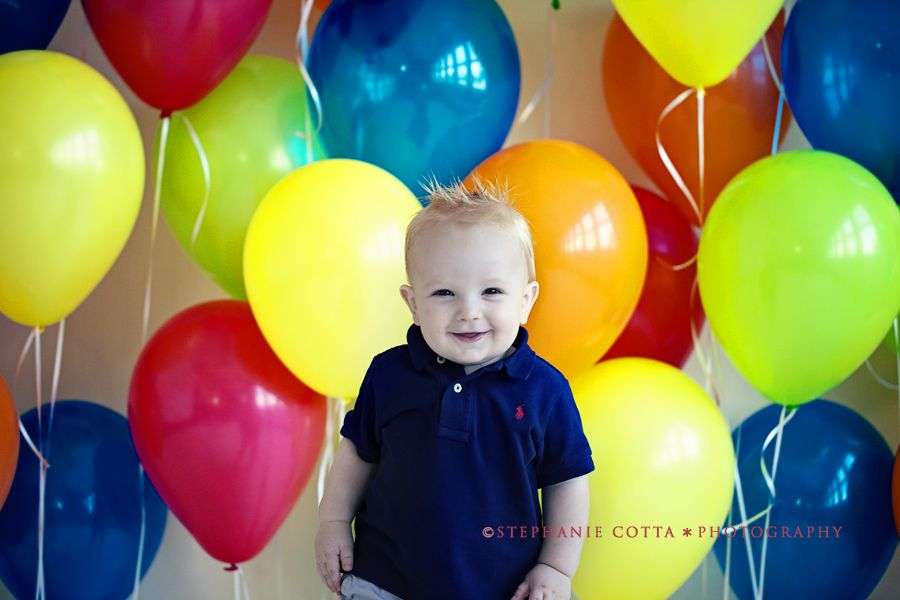 Birthday Session Behind The Scenes St Louis Children Photographer Photographing Kids Circus Theme Party Birthday Photoshoot