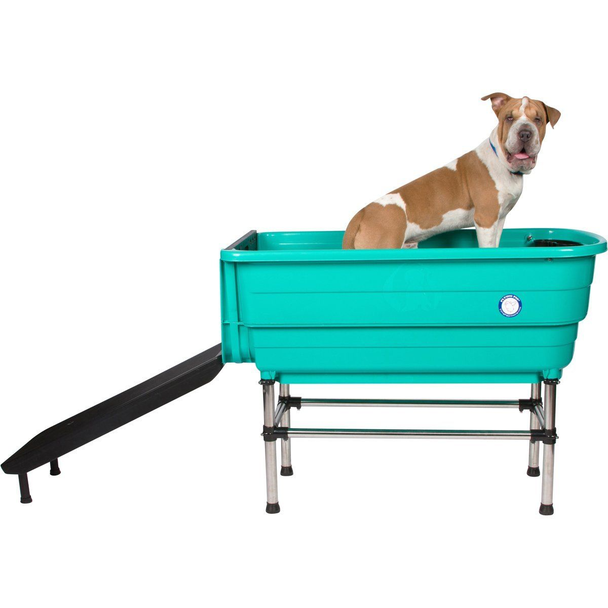 Flying pig large cat dog cat grooming bath tub w ramp