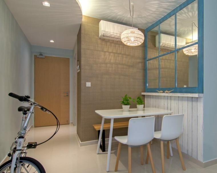 Dekorative Tapete für das Esszimmer - 30+ attraktive Designs Haus