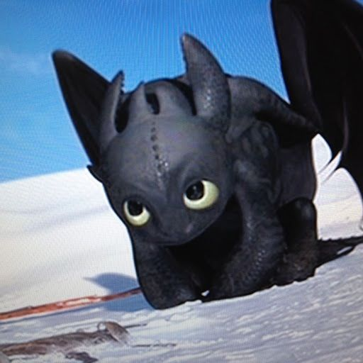 Toothless Is The Cutest Thing