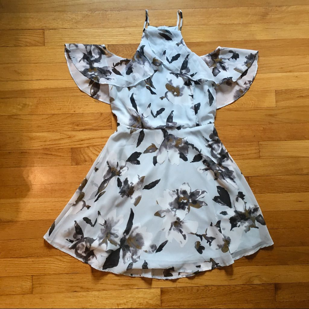 Nwt floral cold shoulder dress products