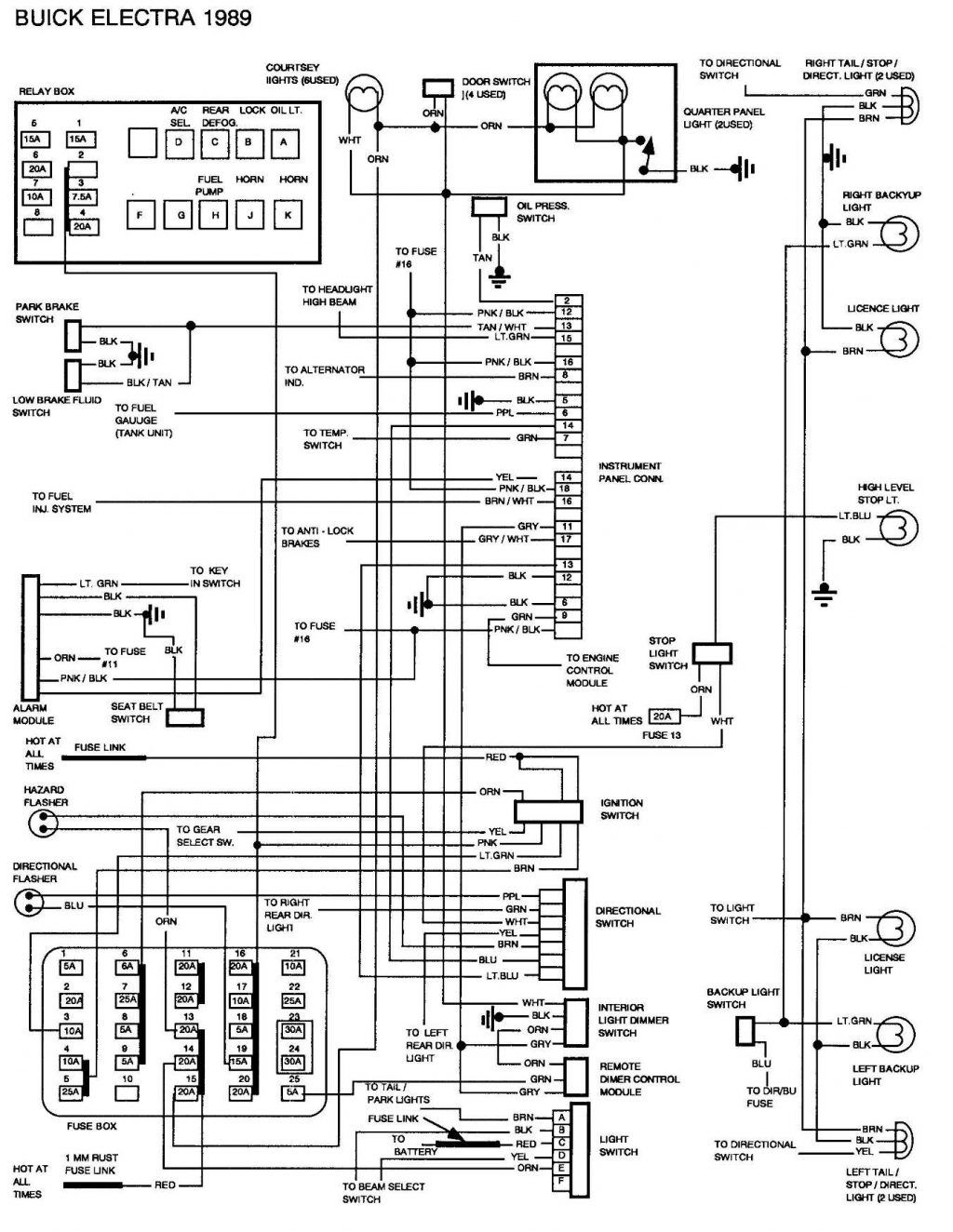 Renault Trafic Wiring Diagram With Images Buick