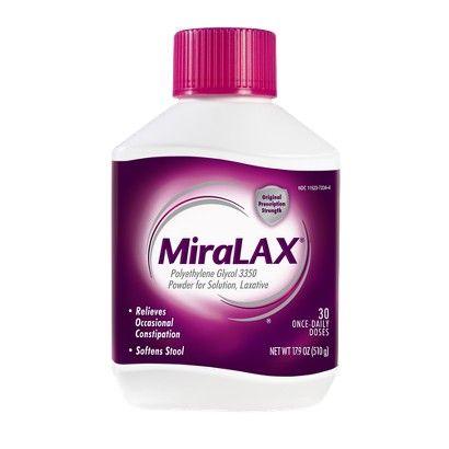 MiraLAX 30-Day Laxative Powder - 17.9 oz.