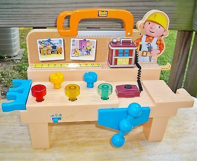 Terrific Bob The Builder Talking Workbench Tool Bench Can We Build It Gmtry Best Dining Table And Chair Ideas Images Gmtryco