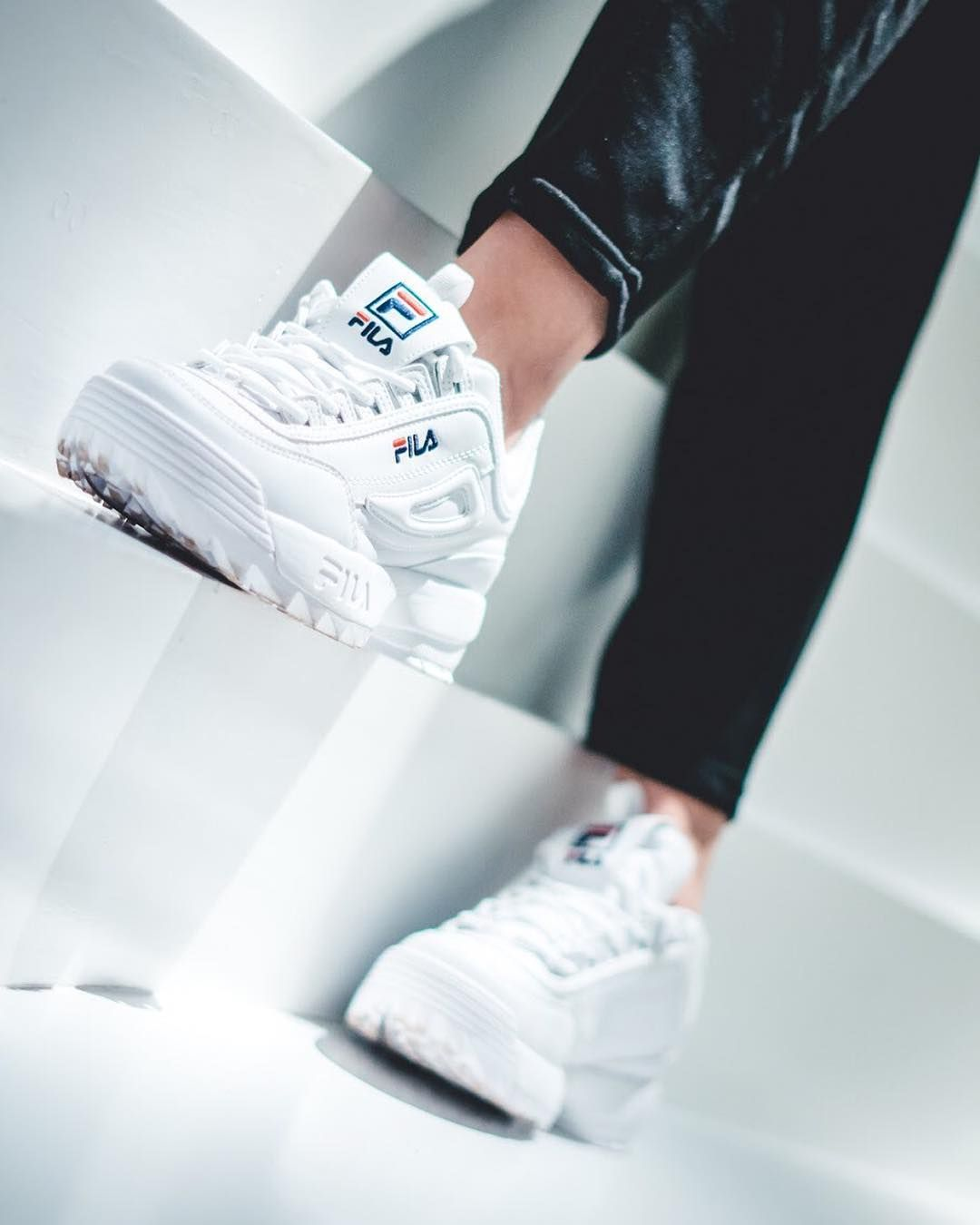 Are White Disruptors Love Photo Matt Why Not Filausa Filaeurope Fila Filasneakers Disruptor Chunky Dadshoe Dad Shoes Instagram Posts Instagram