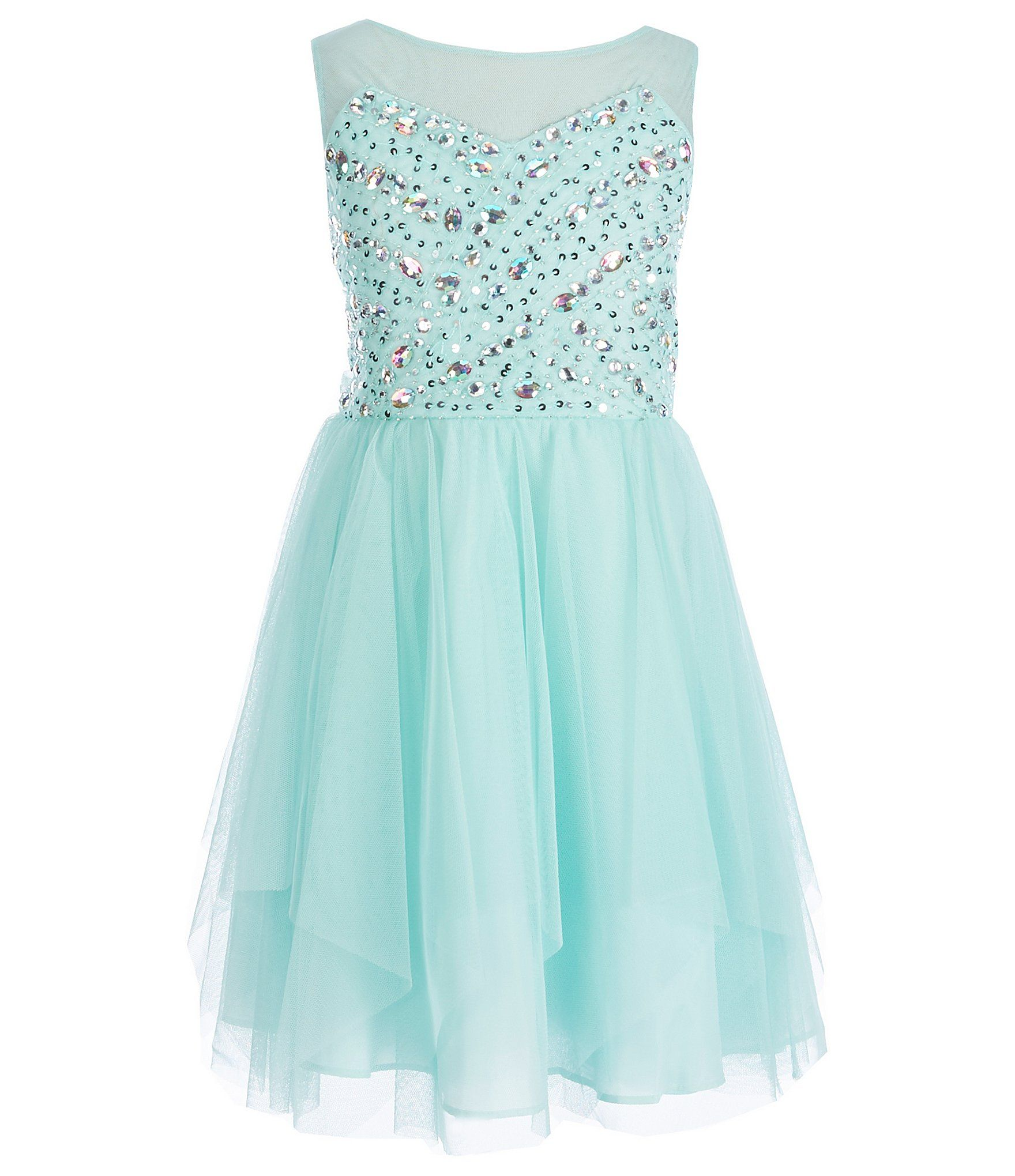 6bef8271fb1d Shop for Tween Diva Big Girls 7-16 Beaded Mesh Dress at Dillards.com. Visit  Dillards.com to find clothing