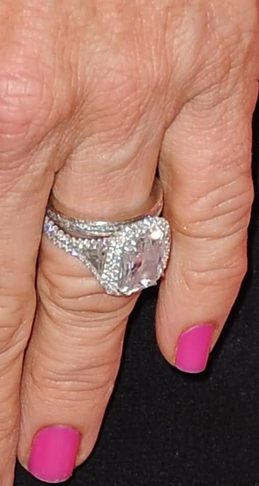 kyle richards celebrity engagement rings pinterest