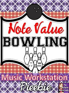 Note Value Bowling Music Workstation  Scores Students And Note