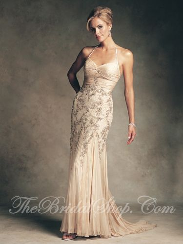 Mother in Law Wedding Dresses with Color