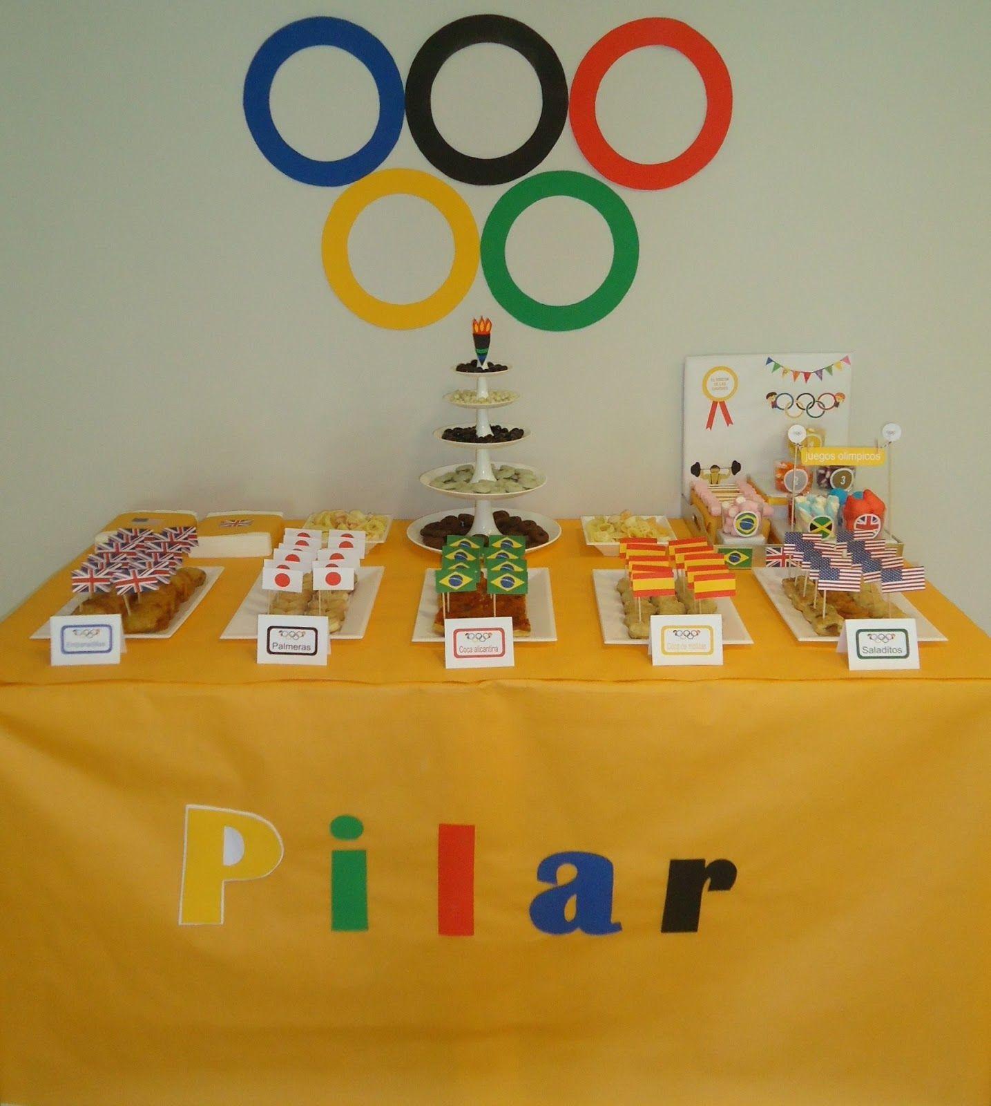 Cumpleaños olimpiadas