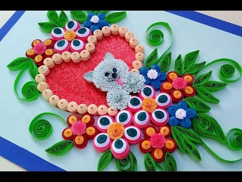Paper quilling how to make a birthday gift greeting card youtube paper quilling how to make a birthday gift greeting card youtube m4hsunfo