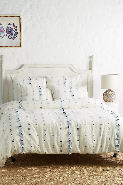 Tasseled Hadria Duvet Cover in 2020 Bed linens luxury