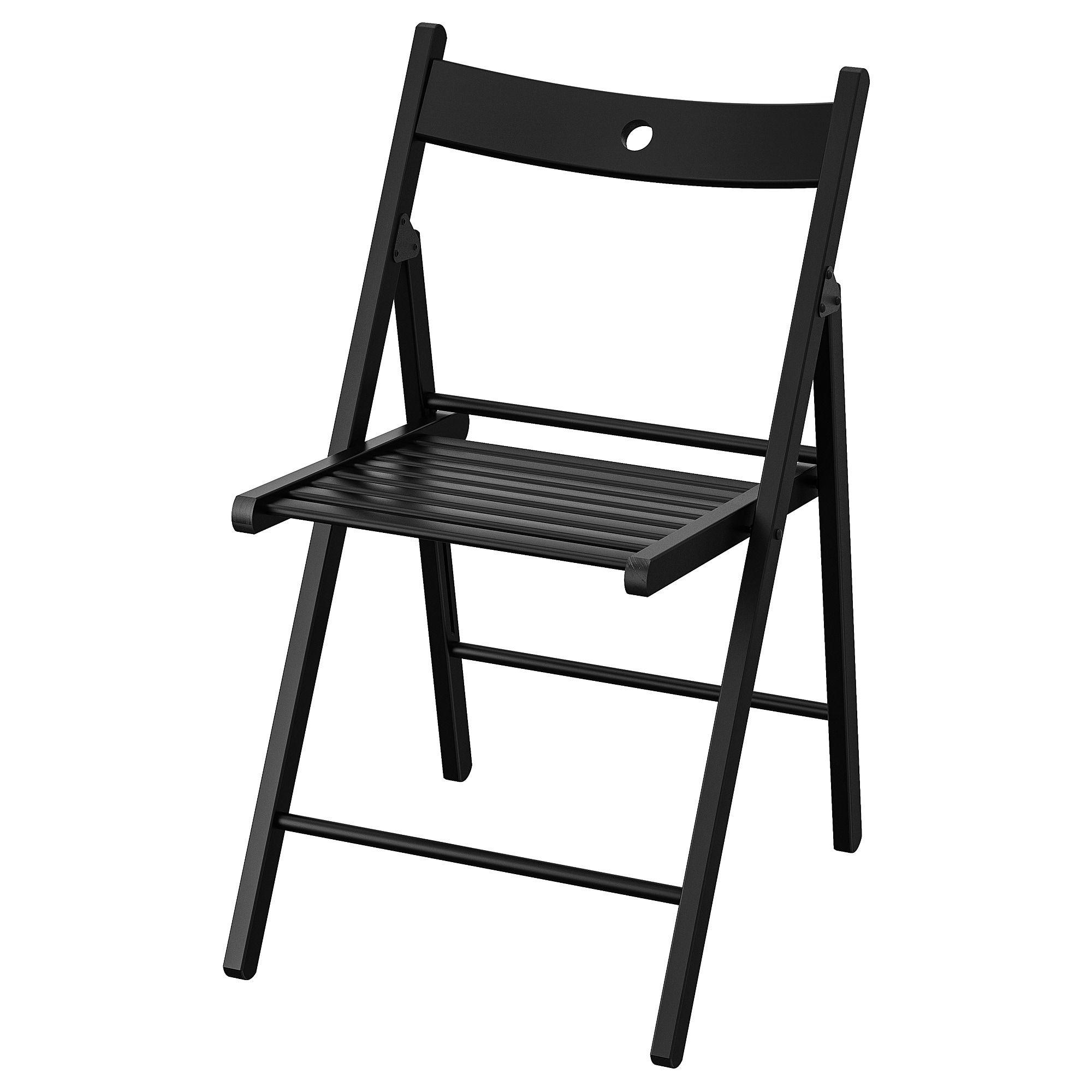 Ikea Terje Black Folding Chair Ikea Dining Chair Folding Chair
