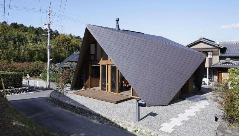 Необычные крыши частных домов — фото объектов для ...